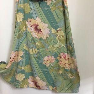 Tommy Bahama  Skirt Tropical Print Size 10